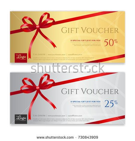 Gift Voucher Certificate Or Discount Card Template For Promo Compliment Gift Card Template Discount Card Online Gift Cards