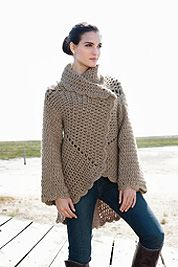 Free crochet coat pattern i like this one i just might have to free pattern lanagrossa free crochet sweater patternscrochet coatcrochet dt1010fo