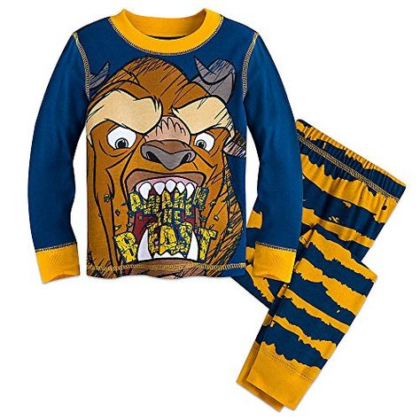 f2c15e1dce Disney Beauty and the Beast - PJ for Boys - 2 Piece Set