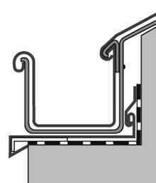 Dachrinne detail  Stehende Dachrinne | Arch | Pinterest | Dachrinne, Stehen und Dachs