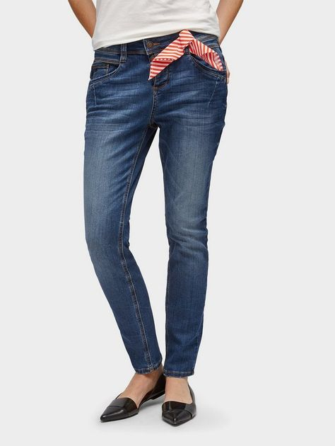 new lower prices various colors various styles TOM TAILOR Relax-fit-Jeans »Tapered Relaxed Jeans ...
