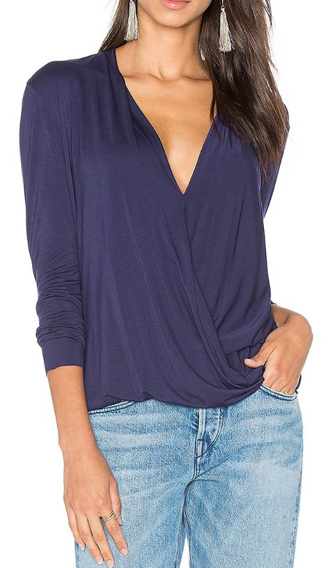 Pretty surplice top