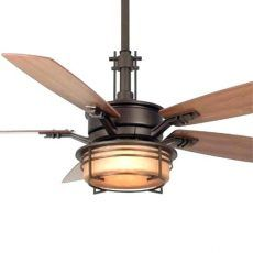 Exclusive Exquisite Mission Style Ceiling Fan In Fans Hunter