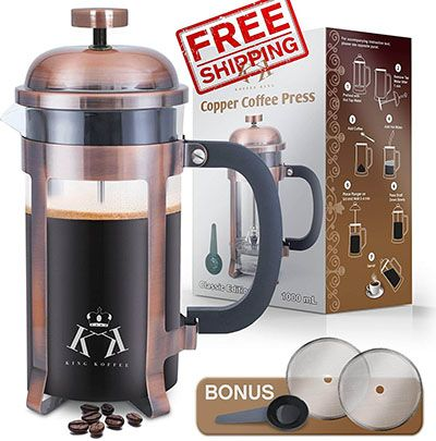 Top 10 Best French Press Coffee Makers In 2020 Reviews French Press Coffee Maker Coffee Maker French Press Coffee