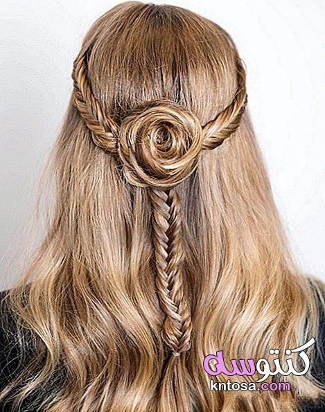 تسريحات شعر بسيطة وناعمة للخطوبة Hair Styles Long Hair Styles Bridal Hair