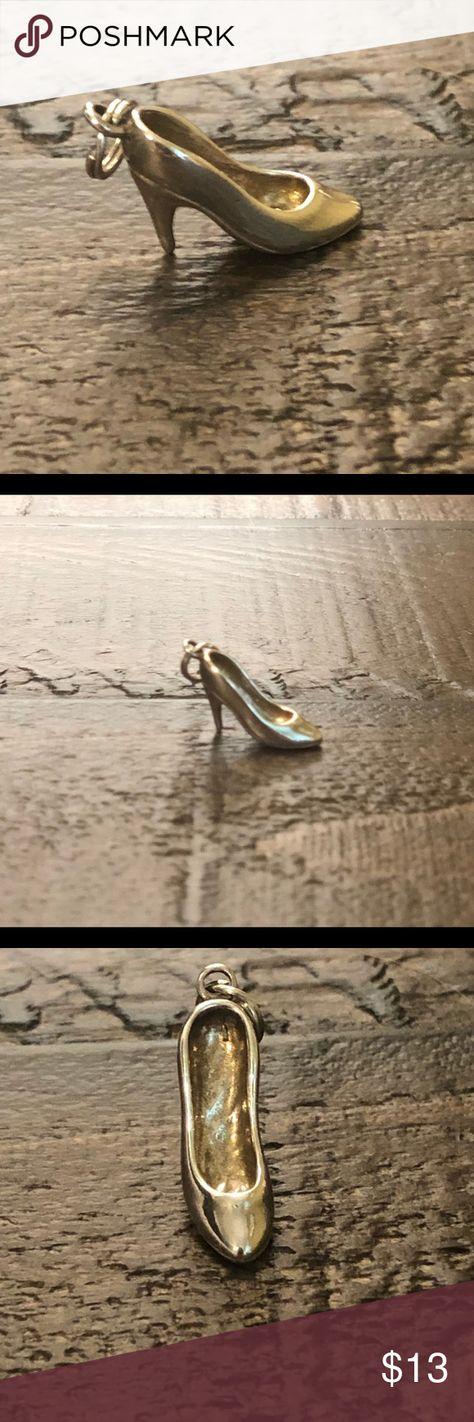 Sterling Silver .925 High Heel Charm