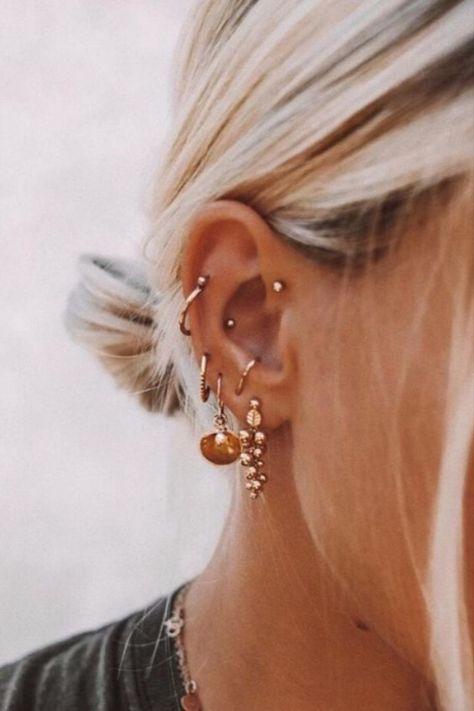 Chic Women Fashion Three Faux Pearl Hoop Circle Earring Jewelry Gift J