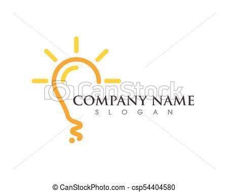 Logo Bombilla Buscar Con Google Diseno Grafico Bombillas Graficos
