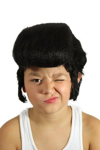 My Costume Wigs Boy s Kid s Elvis Wig (Black) One Size fits all     More  info could be found at the image url. 817a5b979249