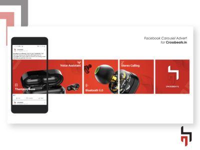 Facebook Carousel Advert Mockup In 2021 Facebook Carousel Ads Furniture Graphic Instagram Ads