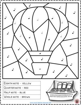 Music Lessons Music Coloring Pages 15 Transportation Themed Music Coloring Sheets Musiced Music Coloring Sheets Music Coloring Music Lessons For Kids