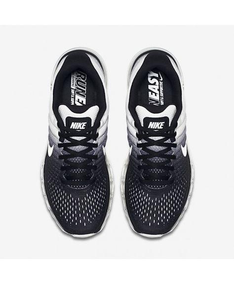 3a8b3fa91359c Chaussure Nike Air Max 2017 Homme Noir Blanc