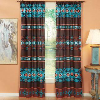 Southwest Canyon Lined Drapes Southwestern Curtains Western Curtains Western Home Decor