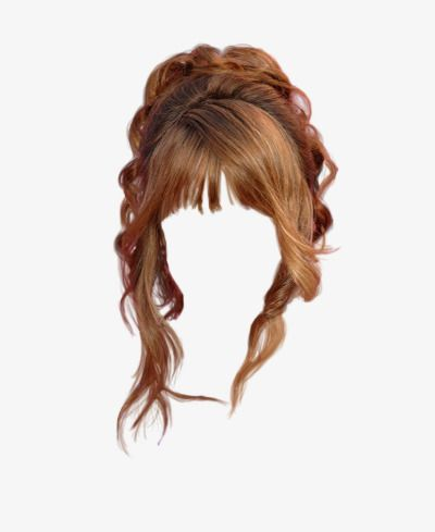 Western Style Curly Wig To Pull The Material Free Wig Clipart Western Style Curls Png Transparent Clipart Image And Psd File For Free Download Hair Styles Hair Images Hair