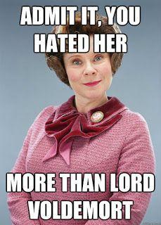 Bestsellsernewbie Let S Talk About Dolores Umbridge That S So True Xd Bestsellsern Harry Potter Jokes Funny Harry Potter Jokes Harry Potter Memes Hilarious