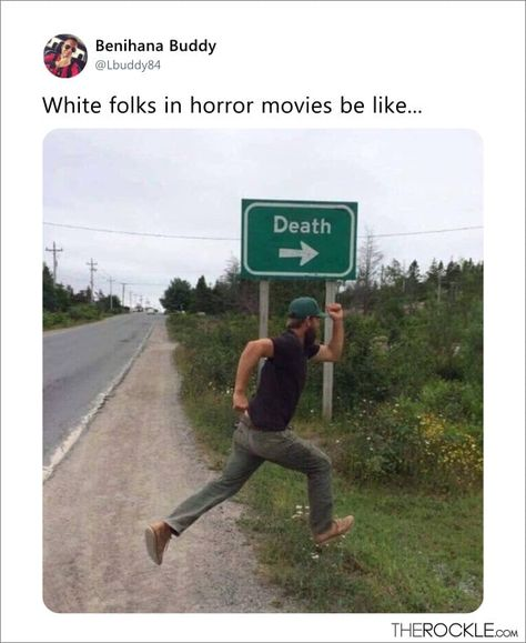 15 Terrifyingly Funny Tweets About Horror Movies