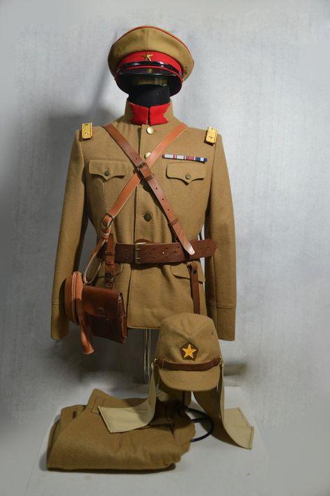 Replica WW2 Japan Army M1930 Officer's Uniform Set | eBay