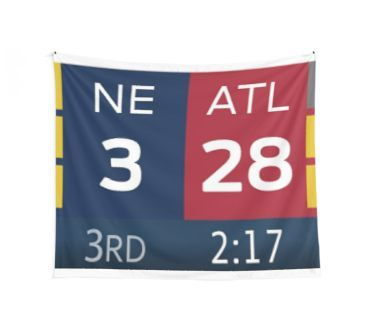 28 3 Patriots Falcons Wall Tapestry Patriots Fun Sports Falcons