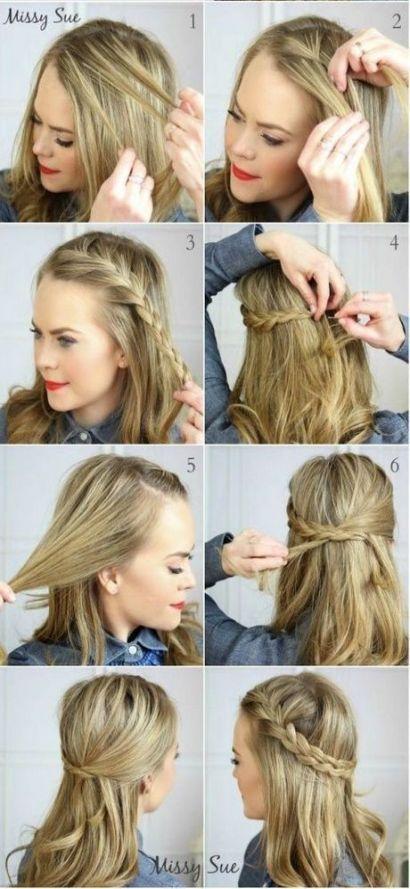 Trendy Hairstyles For Medium Length Hair Easy 2018 40 Ideas Hair
