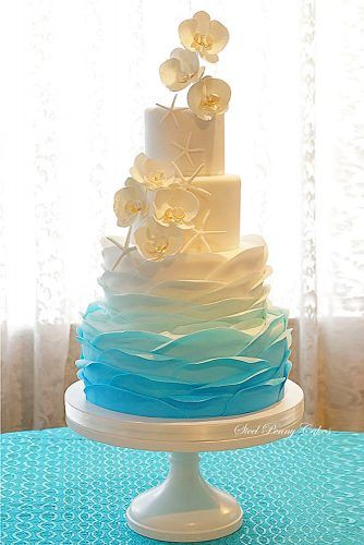 Fantastic Ombre Wedding Cakes ★ See more: www.weddingforwar… Fantastic Ombre Wedding Cakes ★ See more: www. Beautiful Wedding Cakes, Beautiful Cakes, Perfect Wedding, Our Wedding, Dream Wedding, Wedding Ideas, Fall Wedding, Wedding Ceremony, Light Wedding