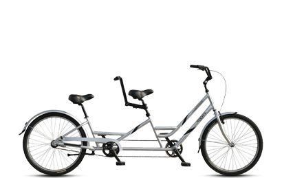 Image result for tandem tag along bike