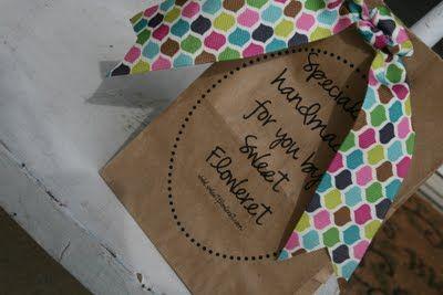 Sweet Floweret: Printable Lunch Bags! Tutorial