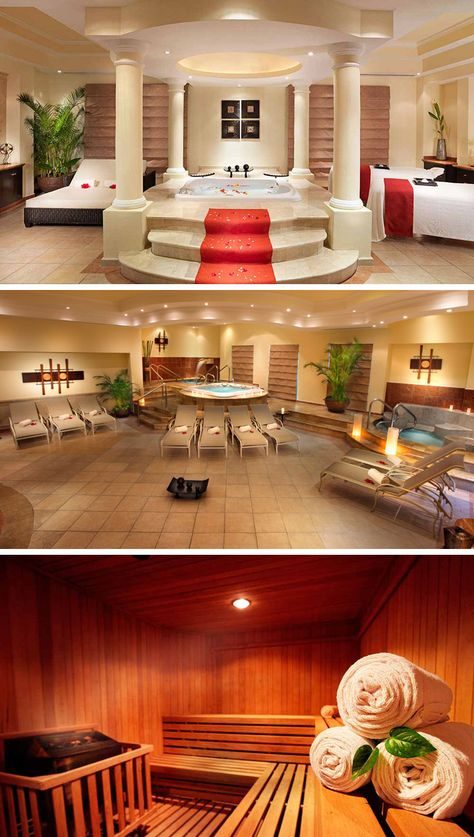 The Moon Palace Cancun has a full-service spa including hydrotherapy and a wide variety of massage treatments.