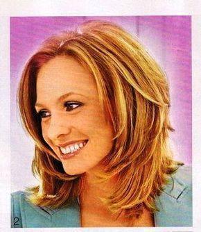 Frisuren Mittellang Stufig Bilder Bilder Frisuren Mittellang Stufig Frisuren Medium Hair Styles Womens Hairstyles Hair Styles