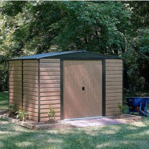 Arrow 10x12 Woodvale Apex Metal Shed Mewv1012 10x12 Woodvale Apex Metal Shed This Woodvale 10x12 Apex Metal Shed Is Ideal For Secure Metal Shed Shed Shed Plans