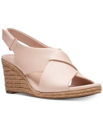 Clarks Collection Women's Lafely Alaine Wedge Sandals