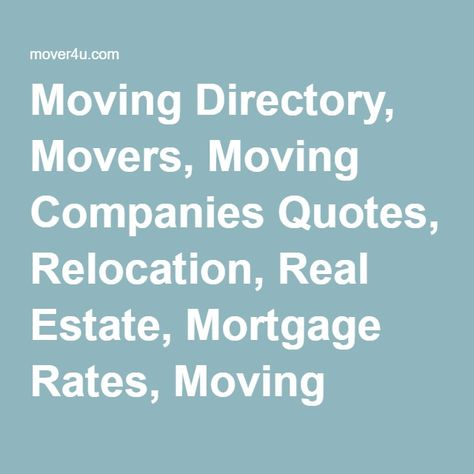Moving Company Quotes >> Pinterest