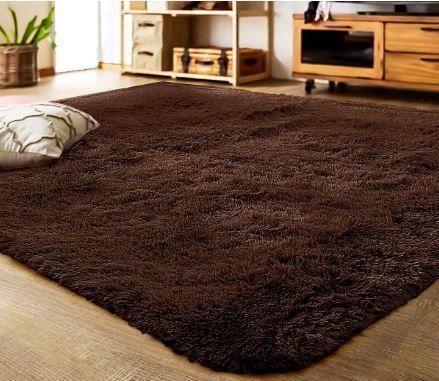 Lochas Soft Indoor Modern Area Rugs Fluffy Living Room Carpets