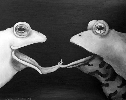Pin On Artsy Frogs By Artist La Lm