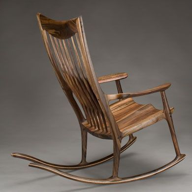 Old Fashioned Wooden Rocker I Think