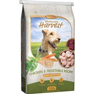 Retriever Wholesome Harvest Chicken Veggies Recipe 35 Lb Bag