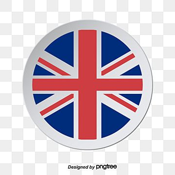Elemental Design Of 3d Stereo Round British Flag 3d Uk London Png And Vector With Transparent Background For Free Download Geometric Pattern Background British Flag Backdrops Backgrounds