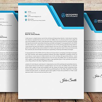 تصميم ترويسة In 2020 Letterhead Design Letterhead Design