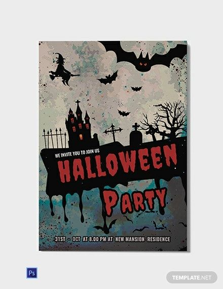 Dark And Red Halloween Invitation Template Free Jpg Google Docs Word Apple Pages Psd Publisher Template Net Halloween Invitation Template Halloween Invitations Party Invite Design Halloween invitation templates microsoft word