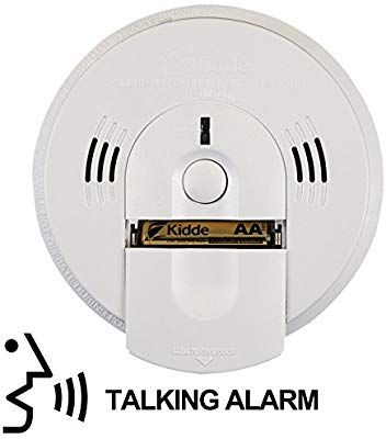 Kidde 21026043 Battery Operated Not Hardwired Combination Smoke Carbon Monoxide Alarm With Voice Warning Kn Cosm Ba Carbon Monoxide Alarms Smoke Alarms Alarm