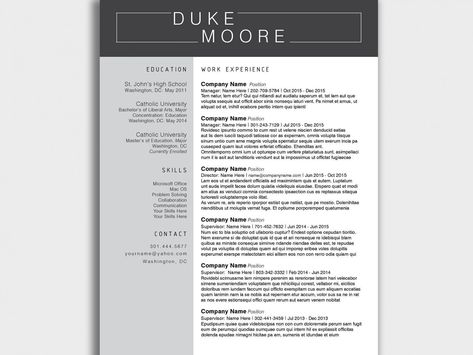 32 Beautiful Proper Spelling Of Resume In 2020 With Images