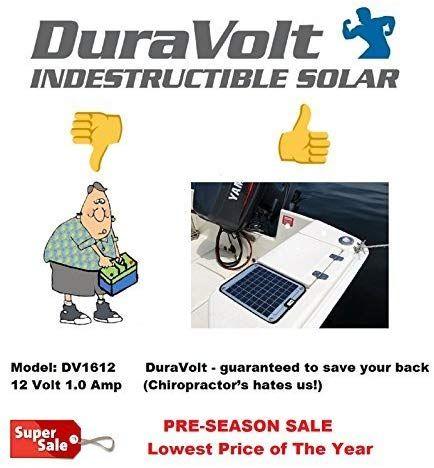 Now 20 Watt 1 0 Amp Solar Battery Charger Boat Rv Marine Trolling Motor Solar Panel In 2020 Solar Battery Charger Solar Battery Battery Charger