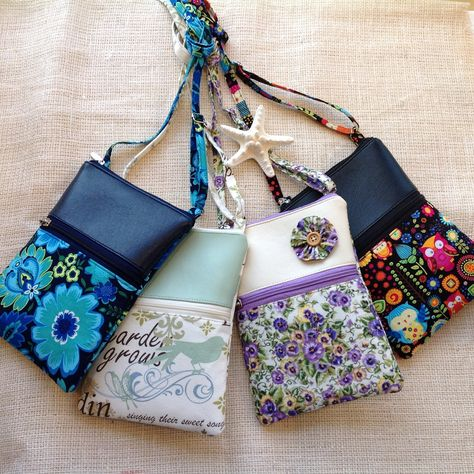 Cell phone bag Minimalist crossbody purse with adjustable strap bag with pocket Fun and Funky bag travel purse small crossbody purse