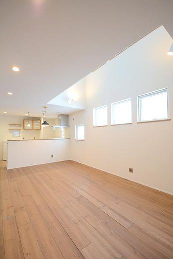 吹き抜けのある収納たっぷりココティーク 札幌の注文住宅 新築 建売