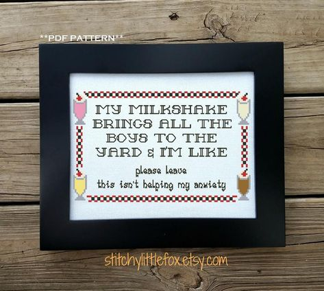 117 Times Cross Stitches Were So Badass, They Were Perfect For 21St Century
