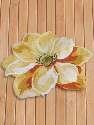 Exotica Flower Shaped Rug In 2020