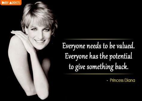 Meme Princess Diana feel valued