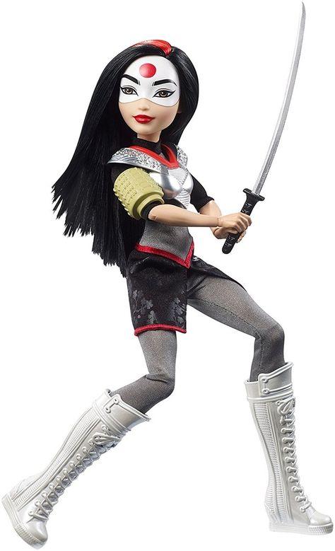 DC Super Hero Ragazze FDJ30 KATANA ACTION FIGURE doll