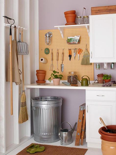 $288 Gardening Station   build this into my shed===this is going to be my next project to get stuff organized and out of every area of my house and sunroom.....LOL