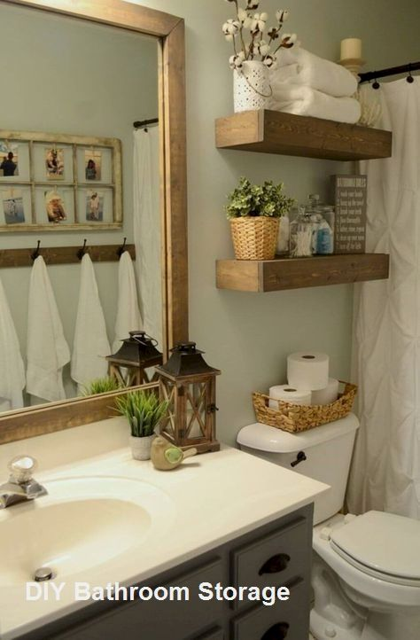 Bathroom Storage Ideas For Small Spaces In 2020 Small Bathroom Decor Bathroom Decor Bathroom Design Small