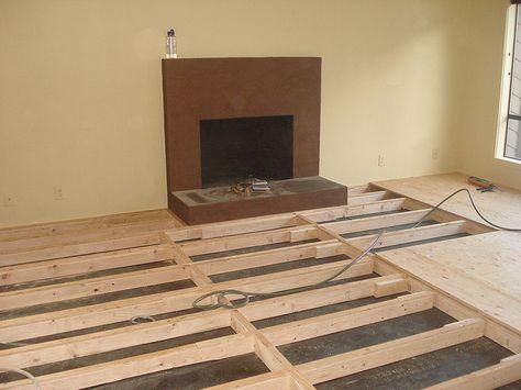 raise a sunken bedroom floor   Raised Bamboo Floor 2   Flickr - Photo Sharing!